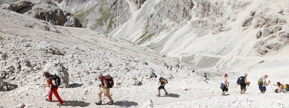 apt val di fassa_valle del vajolet principe huttentocht dolomieten panorama val di fassa zuid tirol italie italiaanse alpen wandelvakantie