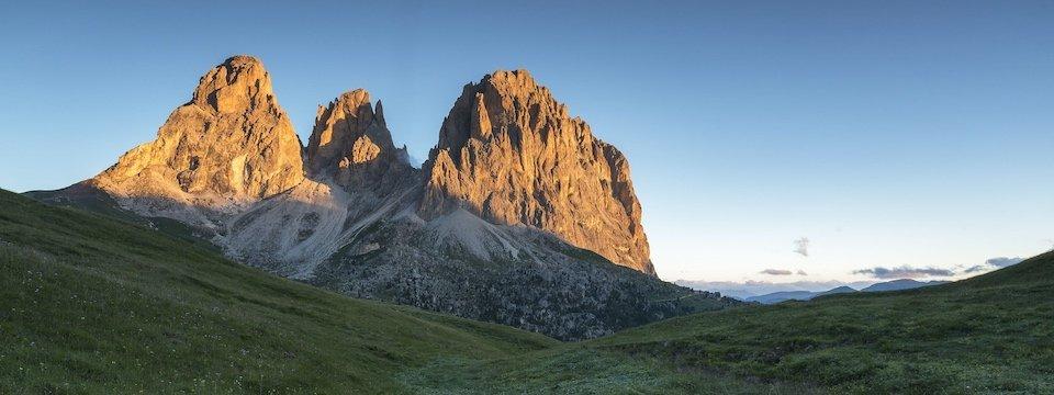 huttentocht dolomieten panorama val di fassa zuid tirol italie italiaanse alpen wandelvakantie 7_sassolungo val di fassa   foto alessandro gruzza