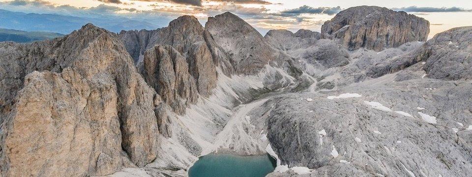 huttentocht dolomieten panorama val di fassa zuid tirol italie italiaanse alpen wandelvakantie lago antermoia catinaccio(6) 2