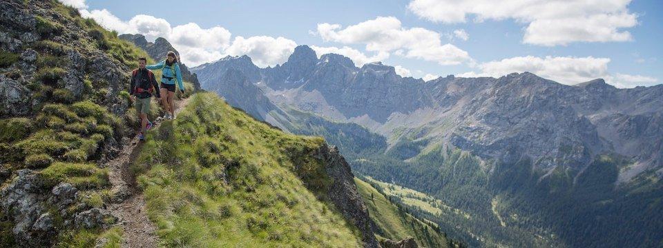 huttentocht dolomieten panorama val di fassa zuid tirol italie italiaanse alpen wandelvakantie apt val di fassa_federico modica_col de valvacin 2