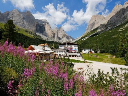 huttentocht dolomieten panorama val di fassa zuid tirol italie italiaanse alpen wandelvakantie apt val di fassa_ralf brunel_gardeccia