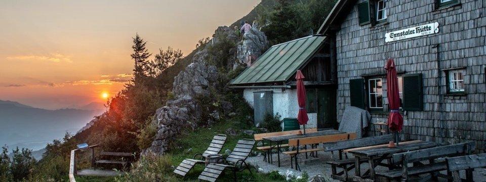 huttentocht gesäuse national park runde steiermark oostenrijk alpen st3 heßhütte   ennstalerhütte ennstaler hütte 1
