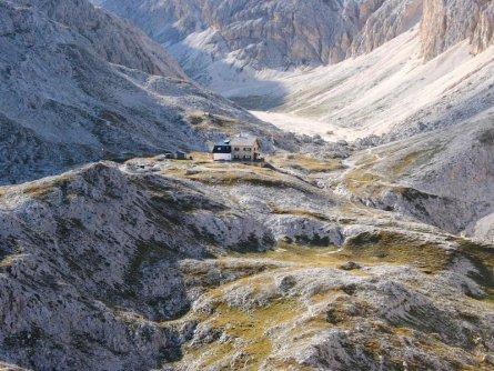 huttentocht dolomieten panorama val di fassa zuid tirol italie italiaanse alpen wandelvakantie rifugio antermoia 2