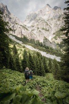 huttentocht gesause national park runde huttenrunde etappe 1 flitzenschlucht