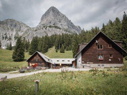 huttentocht gesause national park runde huttenrunde etappe 1 stage 1 klinke hütte   tv gesäuse