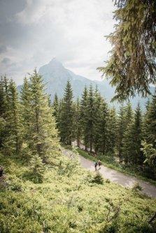 huttentocht gesause national park runde huttenrunde etappe 2 auf dem weg nach johnsbach mit oedsteinpanorama