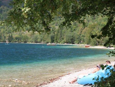 family active bled avontuurlijke gezinsvakantie slovenië zwemmen lake bohinj (tourismus bohinj) 2