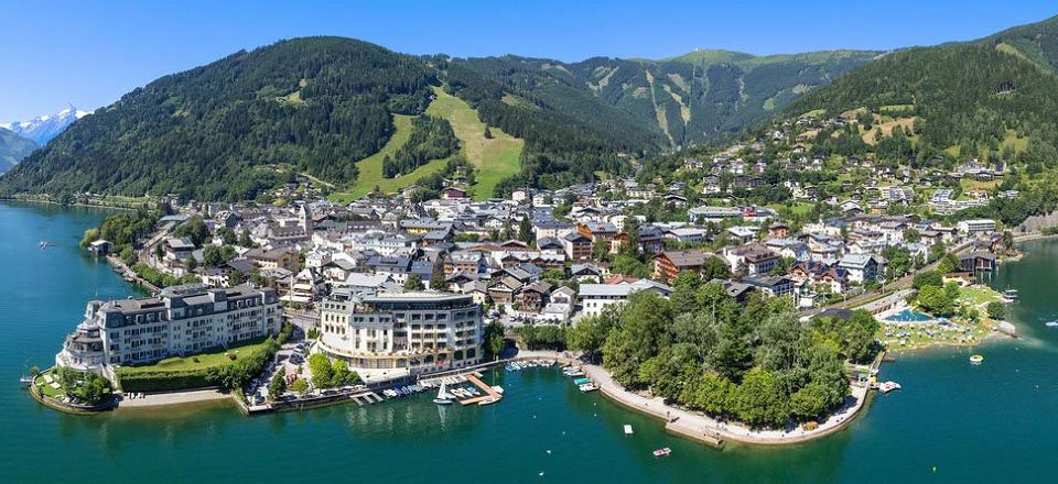 dorp overview zell am see
