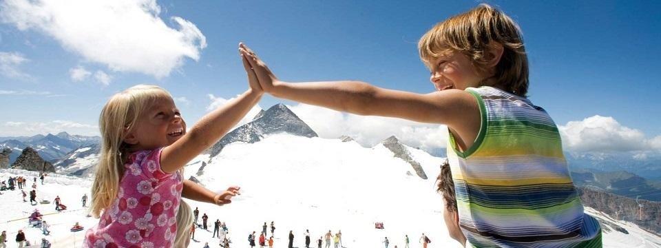 zomerskien hintertuxer gletsjer oostenrijk