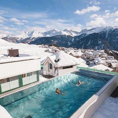 beauty en vital hotel jenny's schlössl serfaus in tirol vakantie oostenrijk oostenrijkse alpen wintersport