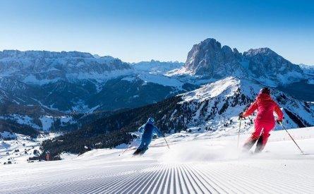 skien vakantie italie wintersport val gardena sella ronda