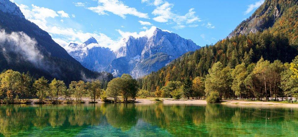 kranjska gora jezero jasna meer