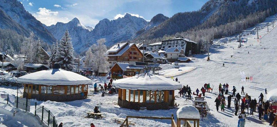 kranjska gora skien wintersport