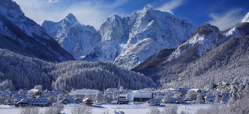 kranjska gora wintersport dorp