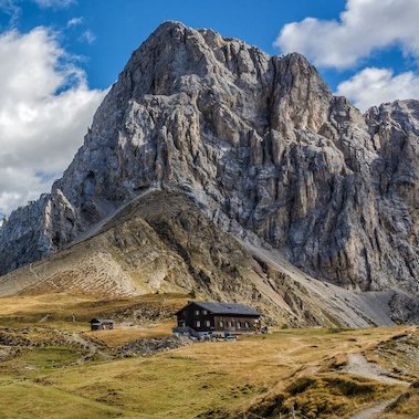 huttentocht val di fassa italie trekking al rifugio san nicolò