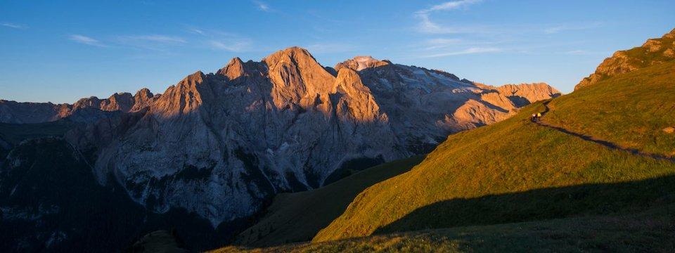 huttentocht val di fassa dolomieten trentino italiaanse alpen wandeltocht1