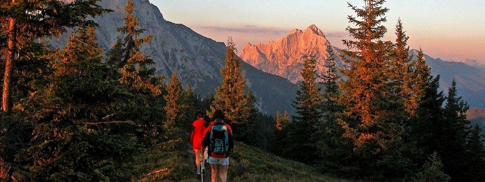 luchs trail meerdaagse wandeltocht oostenrijk alpen kalbling stage 05 klinkehütte johnsbach (alpenverein admont gesause) 3
