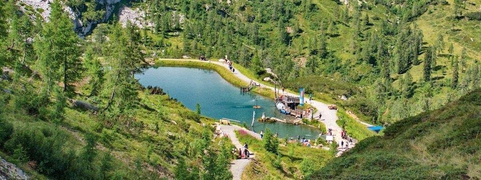 family active nassfeld karinthië avontuurlijke gezinsvakantie oostenrijk alpen wandeltocht aquatrail 2